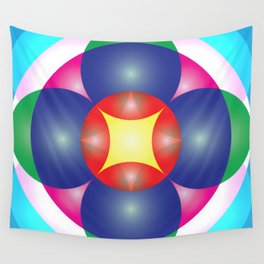 Atoms 28 Wall Tapestry