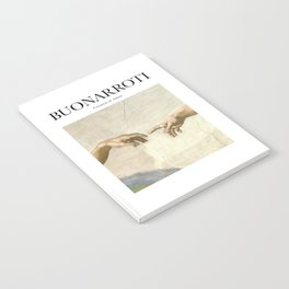 Buonarroti - Creation of Adam Notebook