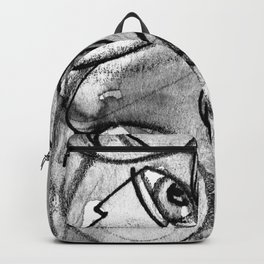 Abstract Nude Goddess No. 40K by Kathy Morton Stanion Backpack