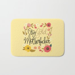 Pretty Sweary- Stay Gold MotherF'er Bath Mat