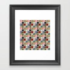 Gone Camping Framed Art Print