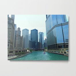 Chicago Ride Metal Print