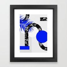 Drill Framed Art Print