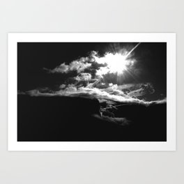 Reflecting in Unconscious Revery Art Print