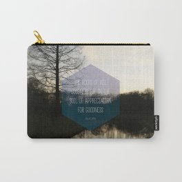 Roots Artprint Carry-All Pouch