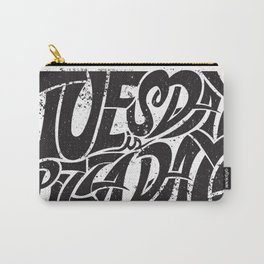 Tuesday is Pizza Day Carry-All Pouch