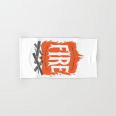 Fire Hand & Bath Towel