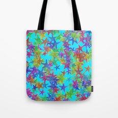 Starfish Parade Tote Bag
