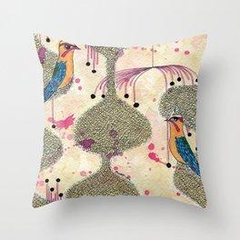 tweets Throw Pillow