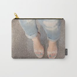 Nude Blue Carry-All Pouch