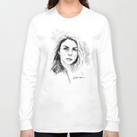 rose Long Sleeve T-shirts featuring Rose by Danny Haas