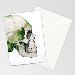Skull 06 Stationery Cards