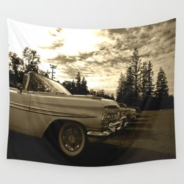 All my friends know the lowrider Wall Tapestry