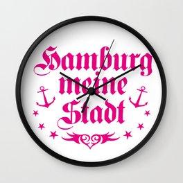 Hamburg - meine Stadt Wall Clock