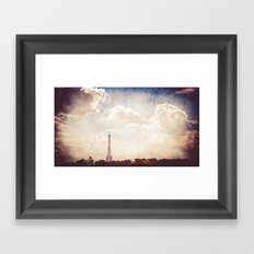 Paris in June Framed Art Print