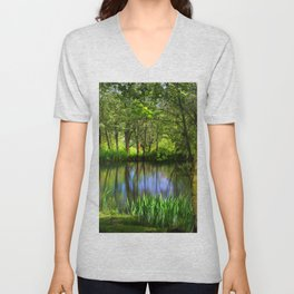 Spring views Unisex V-Neck