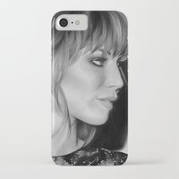 jennifer lawrence iPhone & iPod Cases featuring Jennifer Lawrence by Emma Porter
