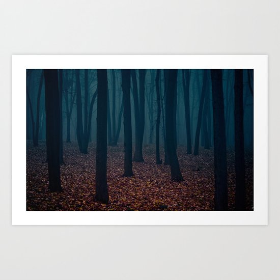 WITCHES FOREST Art Print