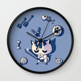 Cat the Conqueror Wall Clock