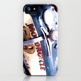 MOTORCYCLE 39 iPhone Case