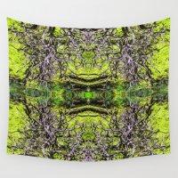 taurus Wall Tapestries featuring Taurus 6 by Kevin Kolstad