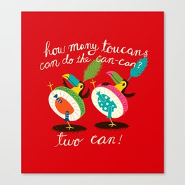 toucan-can Canvas Print