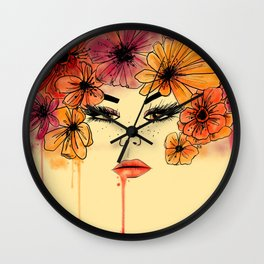 Sands of Time girl Wall Clock