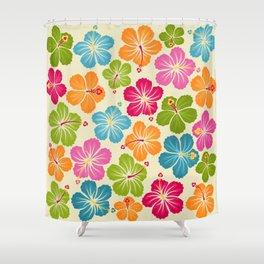 Hibiskus Shower Curtain