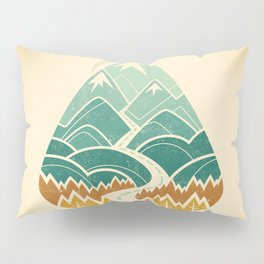 The Road Goes Ever On: Autumn Pillow Sham