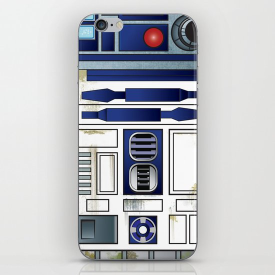 Plucky Droid iPhone & iPod Skin