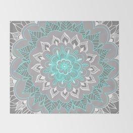 Bubblegum Lace Throw Blanket