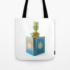 The Studious Pineapple Tote Bag