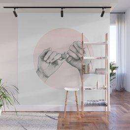 Pinky Swear Wall Mural