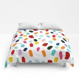 Good & Plenty Polka Daubs Comforters