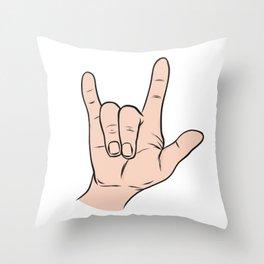 LOVE You Sign Throw Pillow