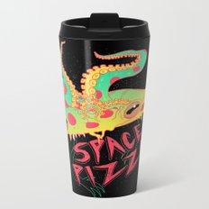 Space Pizza Metal Travel Mug