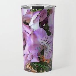 Lavender Pretty Travel Mug