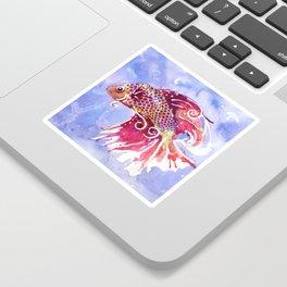 Fish Swirl Sticker