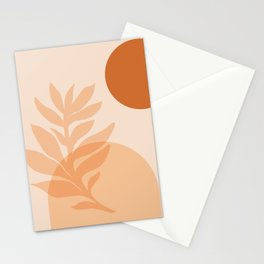 Abstraction_SUN_NATURE_Minimalism_001 Stationery Cards