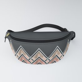 Pink Déco Mountains #society6 #buyart Fanny Pack