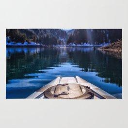 Kayaking in McCloud Northern California Rug