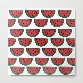 melon Metal Print
