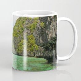 Paradise landscape El Nido Palawan Philippines Coffee Mug