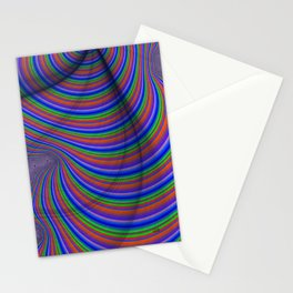 Parking Lot Optical Illusion Stationery Cards