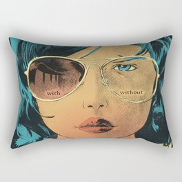 With & Without Rectangular Pillow