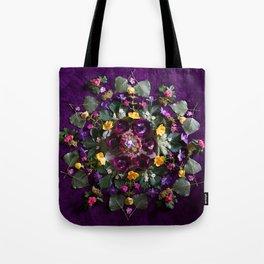 May Flowers Mandala Tote Bag