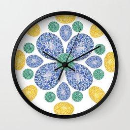 Gem Pattern Wall Clock