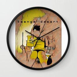 keangelidesart 1 Wall Clock