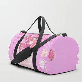 Pink Space Duffle Bag