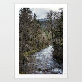 Hackleman Creek No. 2 Art Print